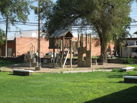 City Library Park playground